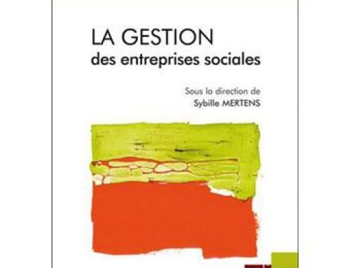 Ouvrage : La gestion des entreprises sociales